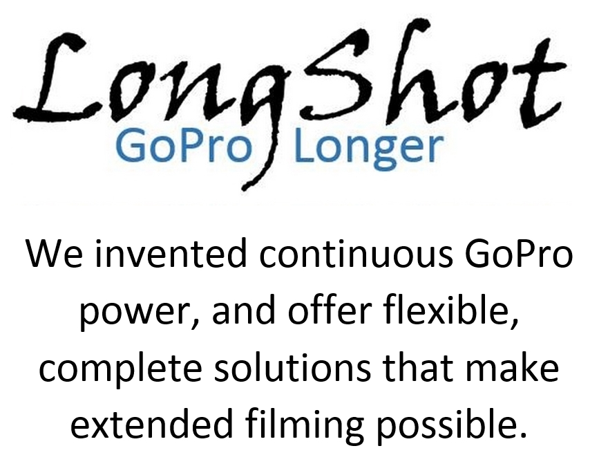 LongShot GoPro Battery Eliminator