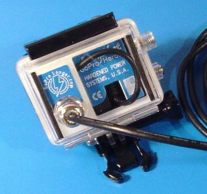 LongShot GoPro Battery Eliminator | GoPro G3 HD LSG3 Assy close up 2 300x281