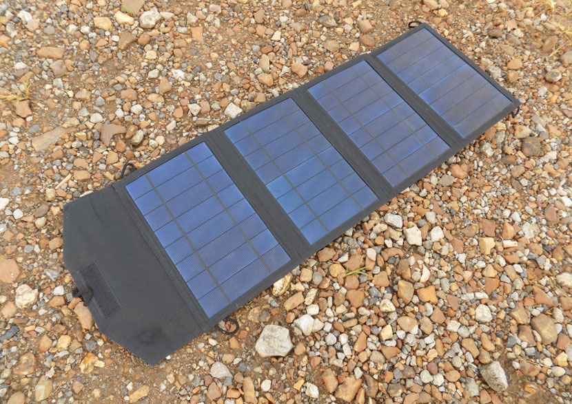 JuiceBox G2 Portable Solar Generator - Stowable Solar Panel