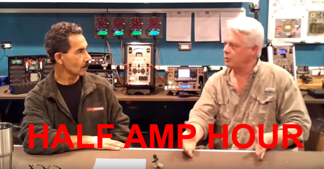 Half-Amp Hour on YouTube